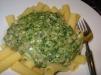 Rezept Tortiglioni mit Spinat und Hackfleisch Soße