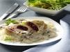 Rezept Champignon-Sahne-Hähnchen mit Preiselbeerfüllung