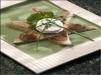 Rezept Sternschnuppe mit Picandou und Rhabarber-Konfitüre